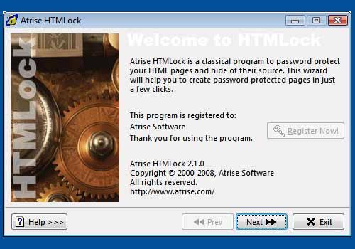 Atrise HTMLock