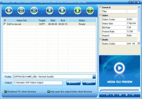 Amadis 3GP Video Converter