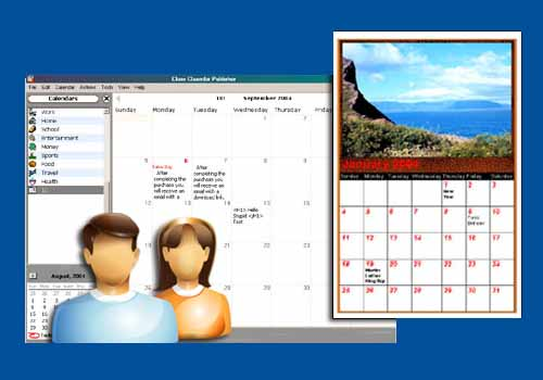 Web Calendar Pad 2010