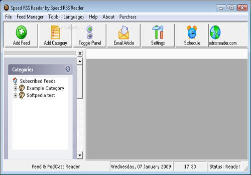 Speed RSS Reader