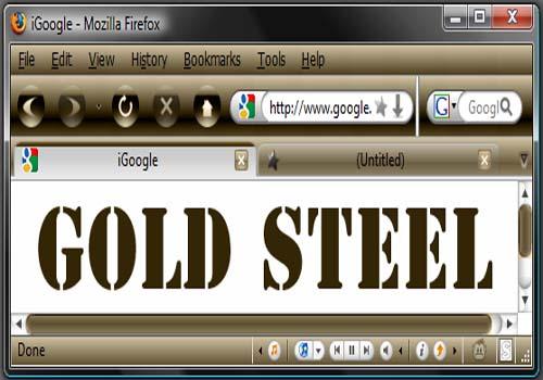 Gold Steel