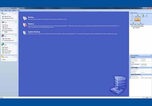 ShadowProtect Desktop Edition