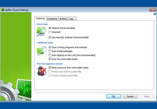 Dr.Web Anti Virus for Windows