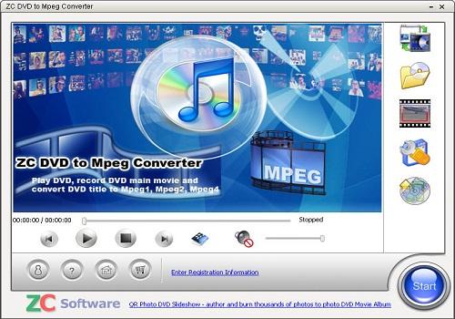 ZC DVD MPEG Converter