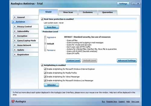 Auslogics Antivirus 2010