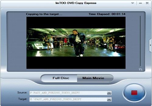 ImTOO DVD Copy Express