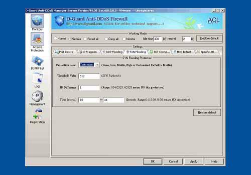 D-Guard Anti-DDoS Firewall