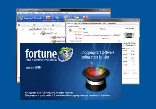 Fortune3 E-Commerce Shopping Cart Wizard 2010