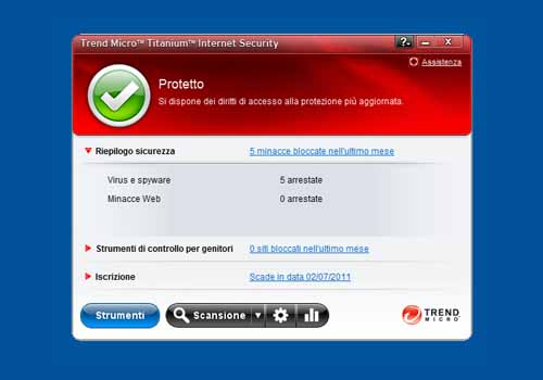 Trend Micro Titanium Internet Security 2011