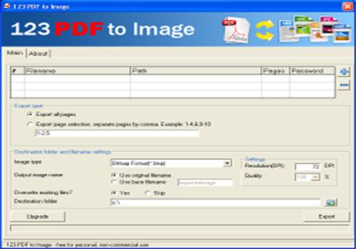 123 PDF to Image
