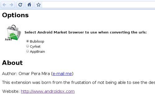 Android Market Link Converter