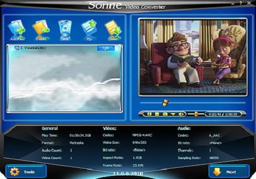 Sonoris DDP Player