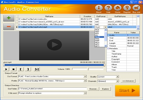 Bolisoft Audio Converter