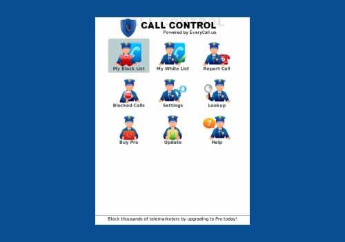 Call Control Blacklist Lite