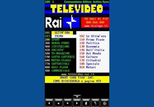 Televideo per Windows Mobile