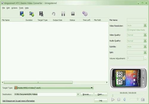 HTC Desire Video Converter