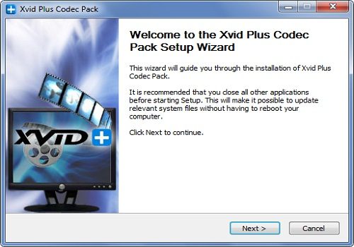 Xvid Codec Pack Plus