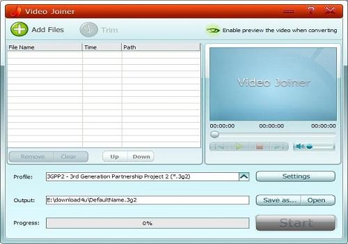 GiliSoft Video Joiner