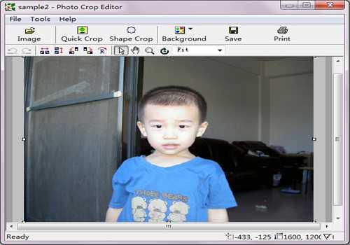 Photo Crop Editor