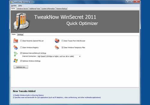TweakNow WinSecret 2011