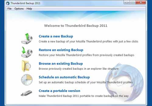 Thunderbird Backup 2011