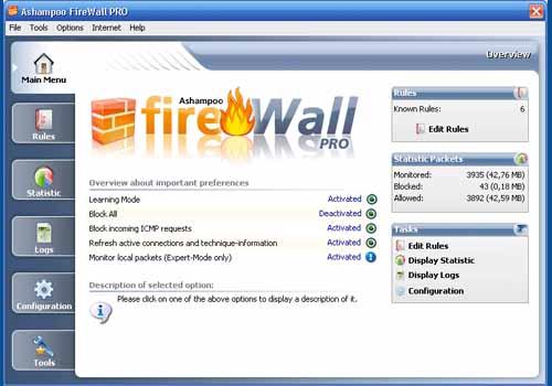 Ashampoo FireWall PRO