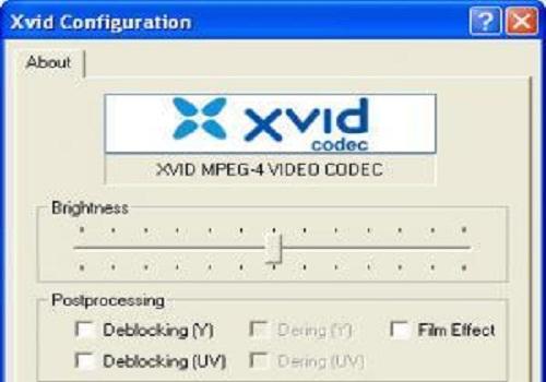 XviD Media Codec