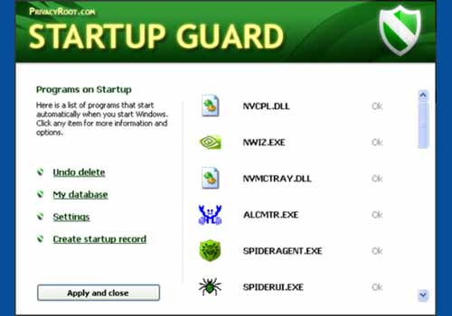 Startup Guard