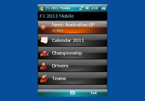 F1 2011 Mobile