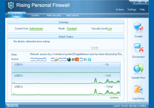 Rising Firewall 2010