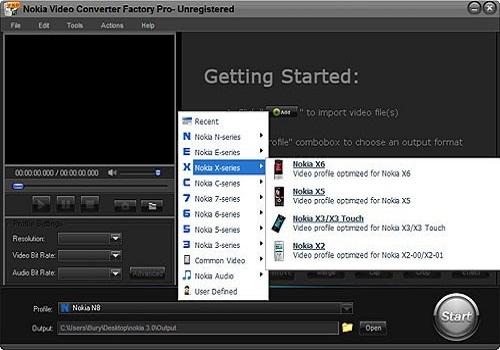 Nokia Factory Video Converter Pro