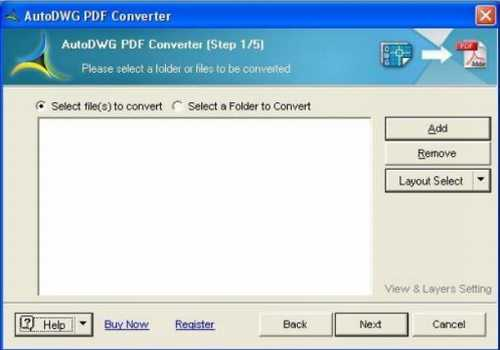 AutoDWG DWG to PDF Converter PRO