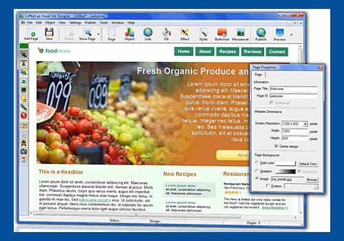 Visual Site Designer