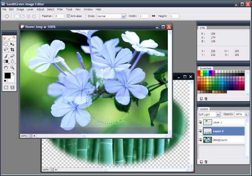 SunlitGreen Photo Editor