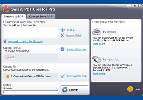 Smart PDF Creator
