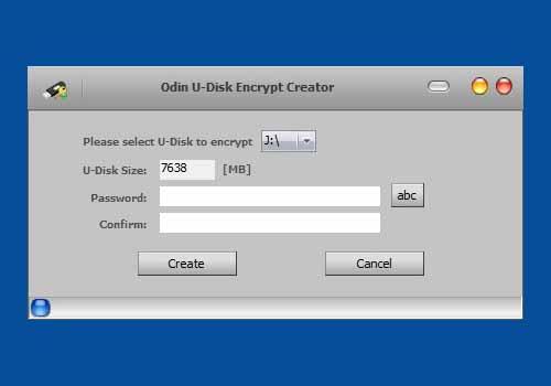 Odin U Disk Encrypt Creator