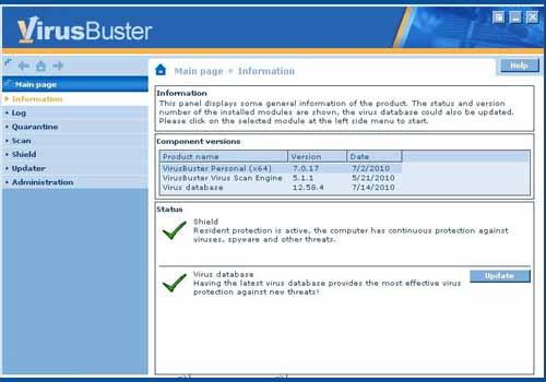 VirusBuster Personal Antivirus