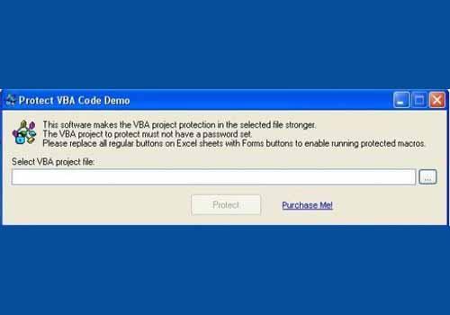 Protect VBA Code
