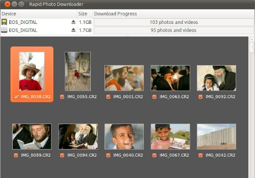 Rapid Photo Downloader