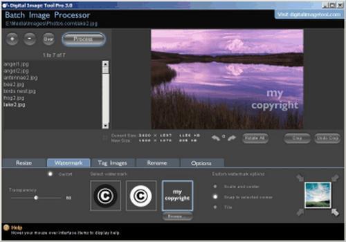 Digital Image Tool