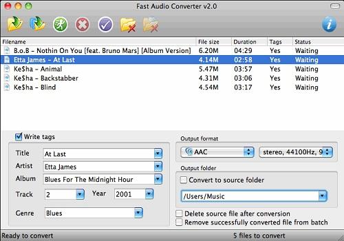 Fast Audio Converter