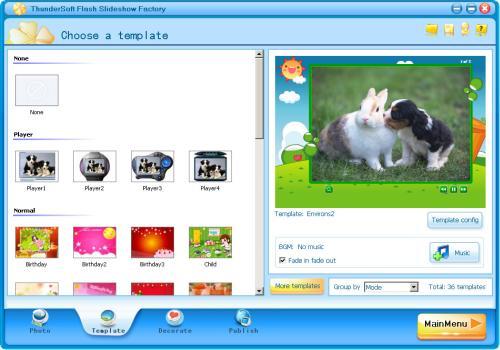 ThunderSoft Flash Slideshow Factory