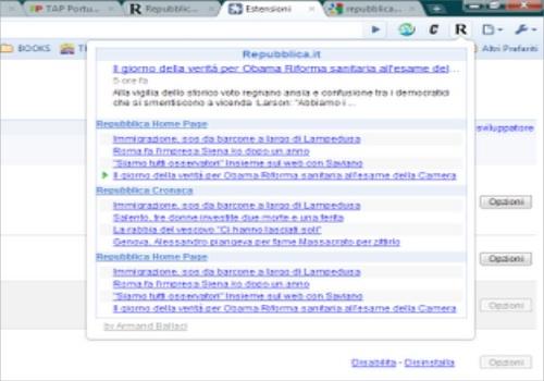 Repubblica per Google Chrome