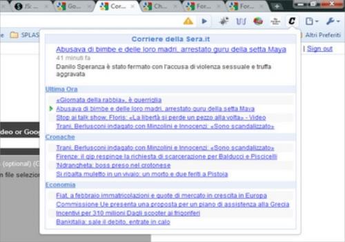 Corriere della Sera per Google Chrome