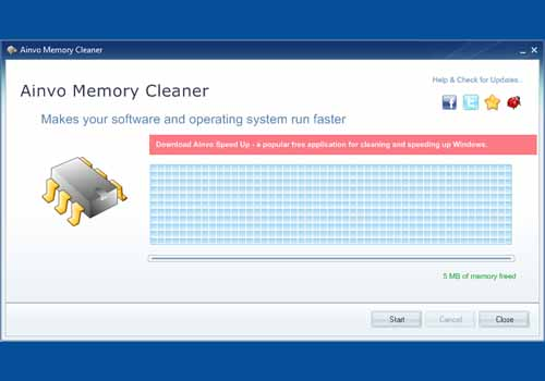 Ainvo Memory Cleaner