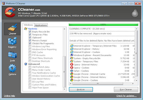CCleaner Home