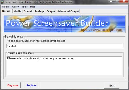 Power Screensaver Builder