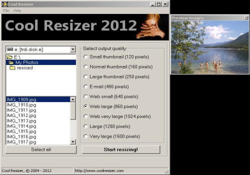 Cool Resizer