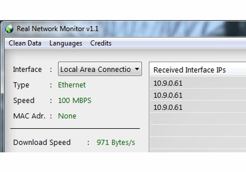 Real Network Monitor