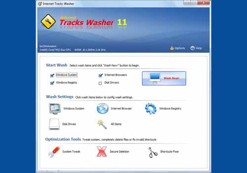 Internet Tracks Washer